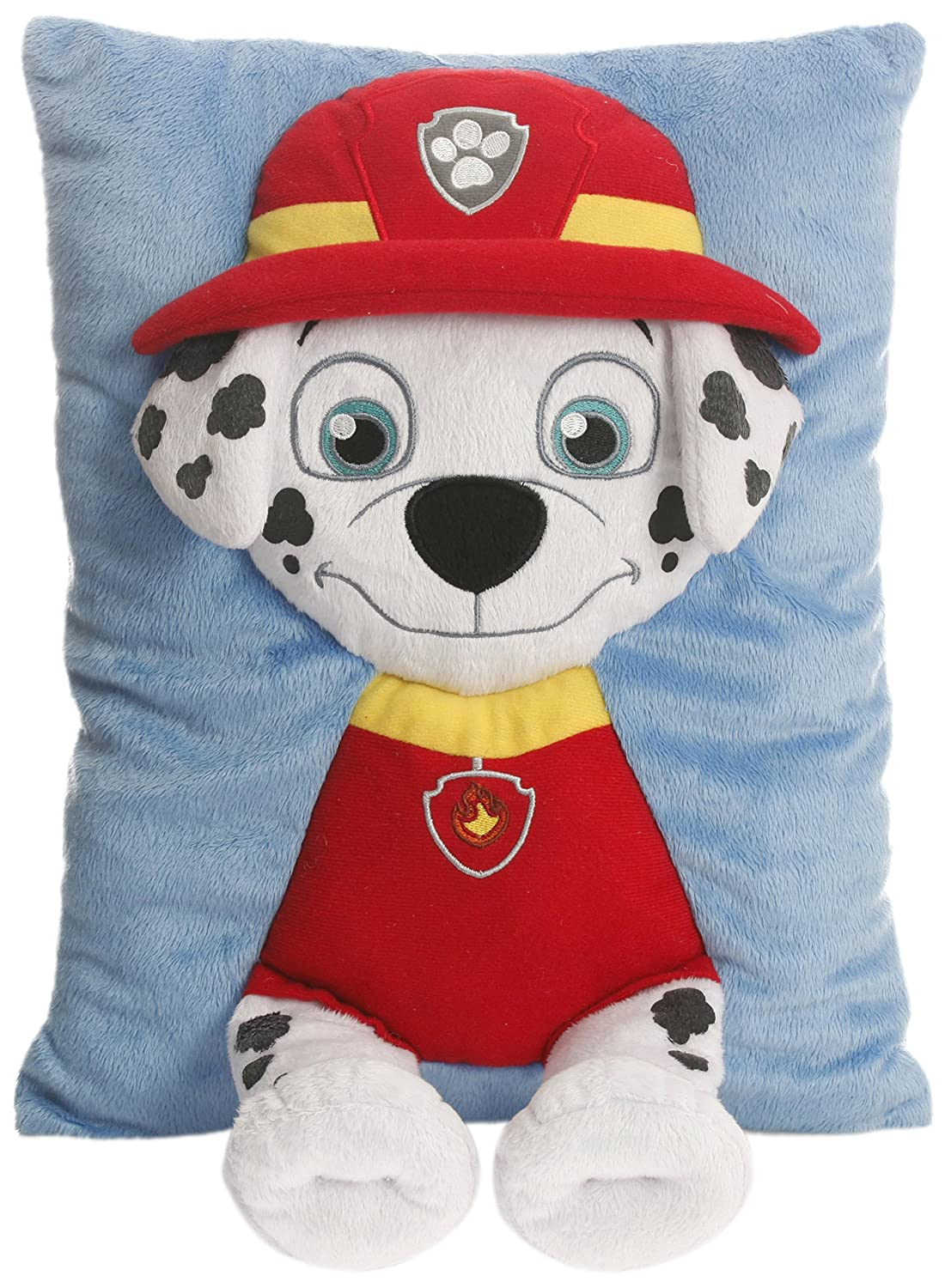 Amazon.com : Paw Patrol Marshall Decorative Pillow, Red/Black ...