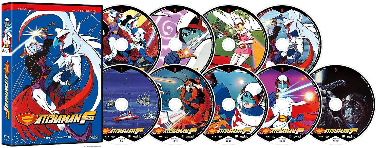 Gatchaman Fighter 9 Dvd Edizione: Stati Uniti Italia: Amazon ...