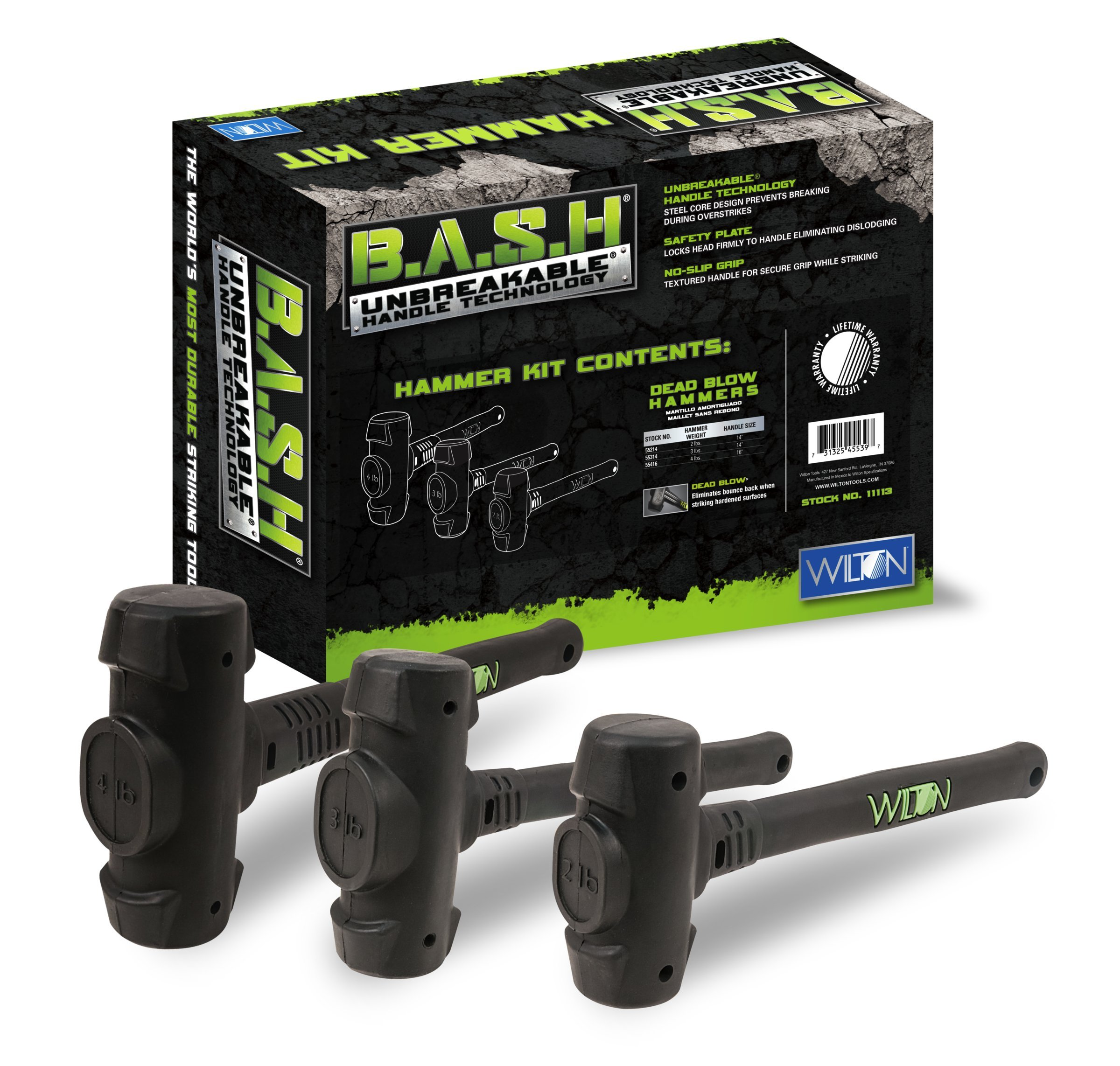 Wilton 11113 B.A.S.H Dead Blow Hammer Kit by Wilton