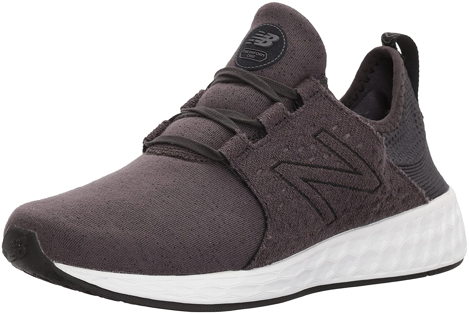 New Balance Women's Fresh Foam Cruz V1 Retro Hoodie Running Shoe B06XRSZY9G 7.5 D US|Black/Phantom