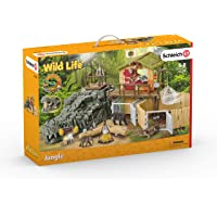 Schleich SC42350 Croco Jungle Research Station Playset