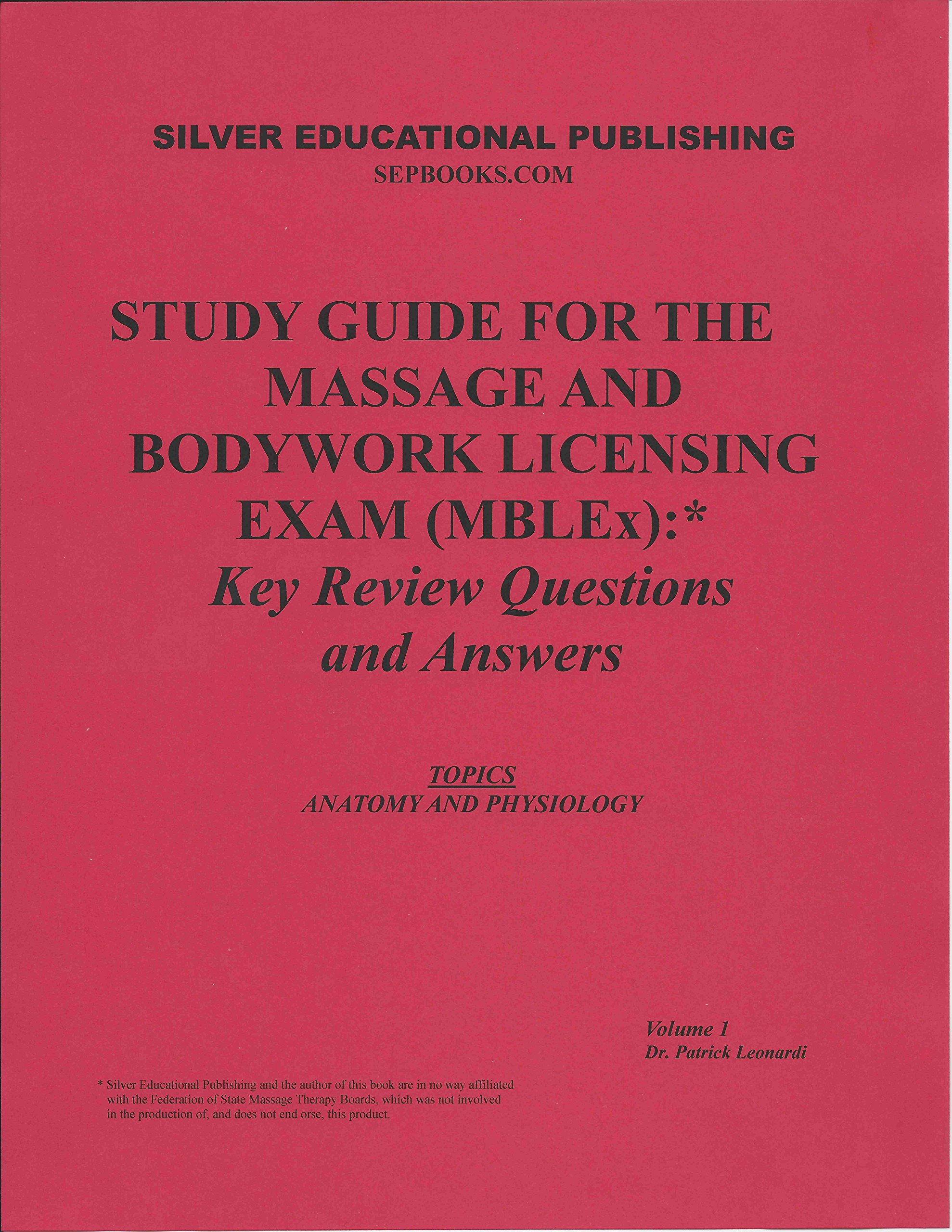Study Guide for the Massage and Bodywork Licensing Exam
