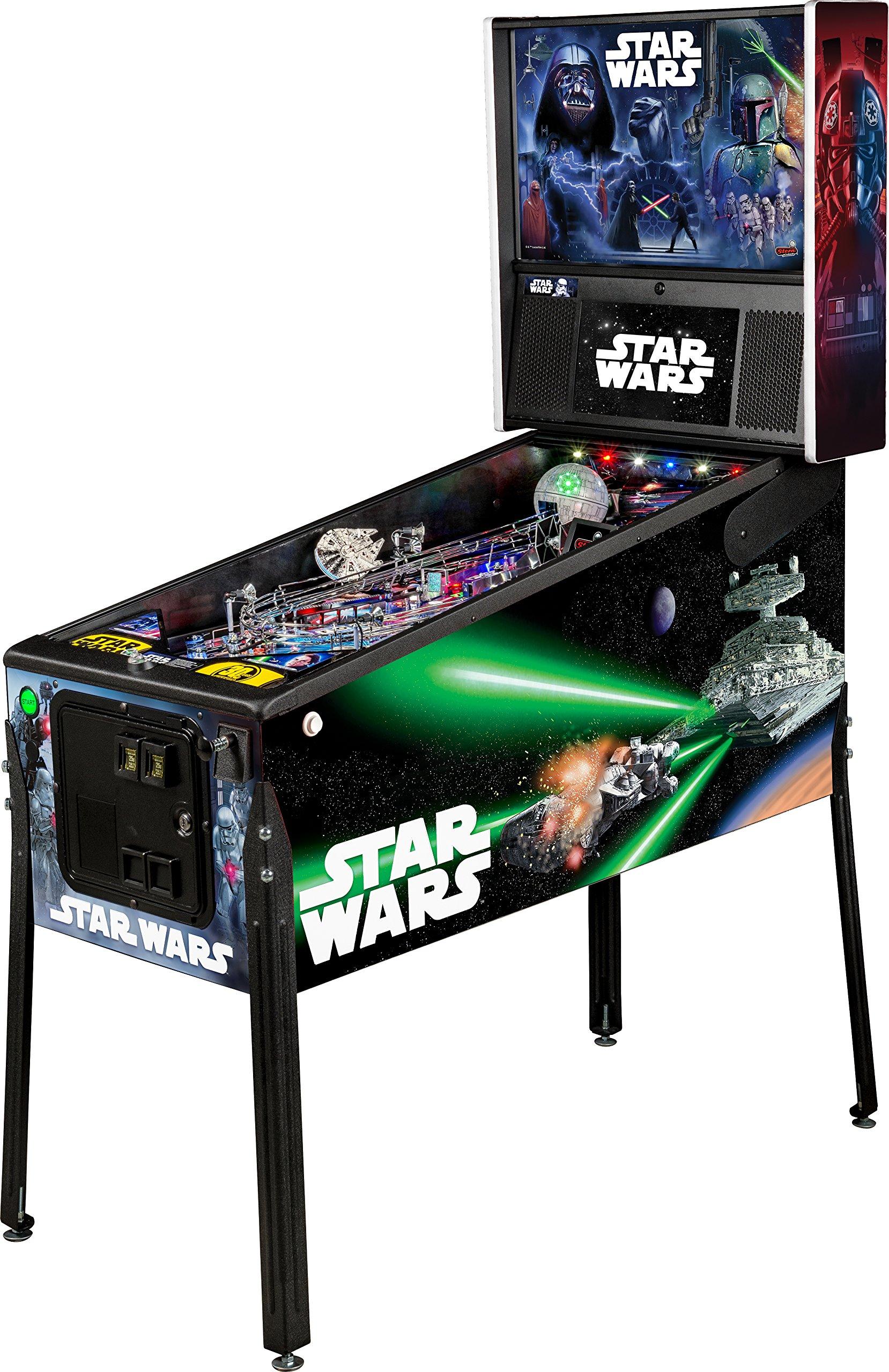 Stern Pinball Star Wars Arcade Pinball Machine, Premium Edition by Stern Pinball