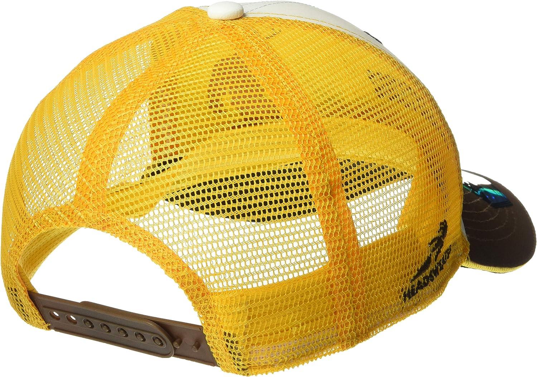 One Size Headsweats Trucker Squatchalope Hat White