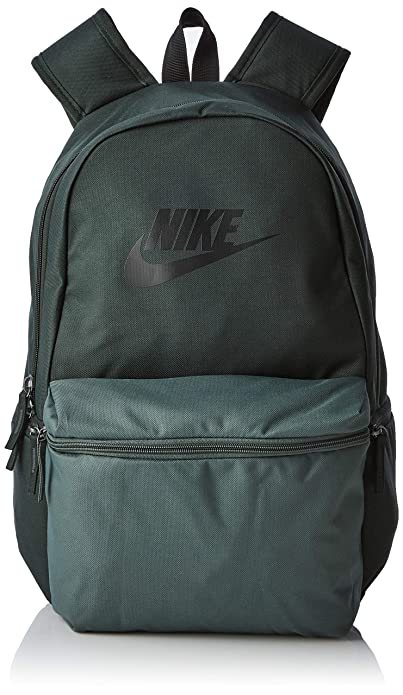 dac3bb4ad5 Nike NK Heritage Bkpk, Sac à dos Mixte Adulte, Multicolore (OUTGRN/MNRLSPRC