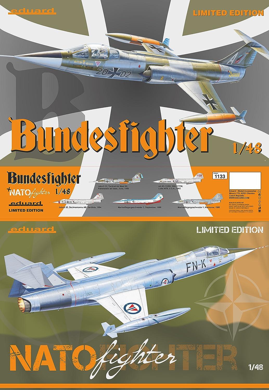 Unbekannt Eduard Plastic Kits 1133 – Maqueta de Bundesliga/OTAN Fighter Limited Edition