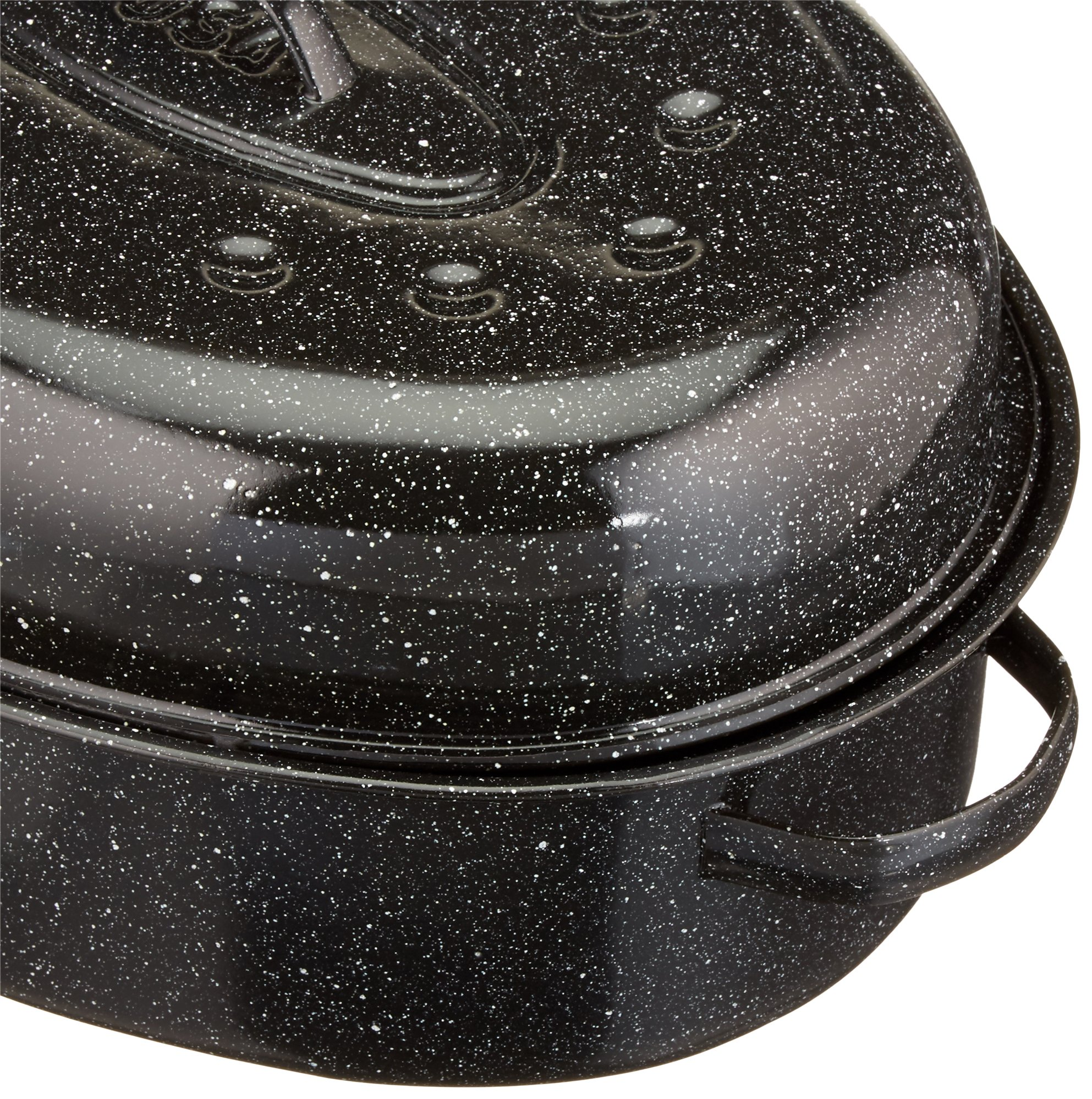 Granite Ware 18-Inch Covered Oval Roaster by Columbian Home (Image #3)