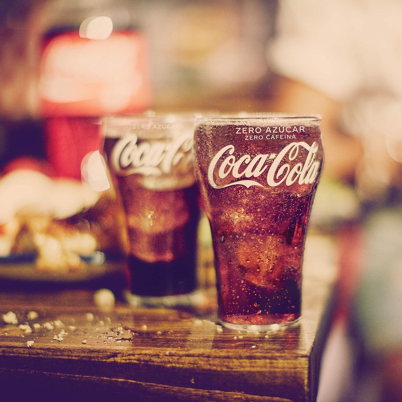 Coca-Cola Zero Azúcar Zero Cafeína Botella - 2 l (Pack de 2): Amazon.es: Alimentación y bebidas