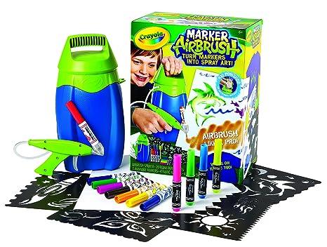 Amazon crayola marker airbrush set 04 8727 toys games crayola marker airbrush set 04 8727 solutioingenieria Gallery