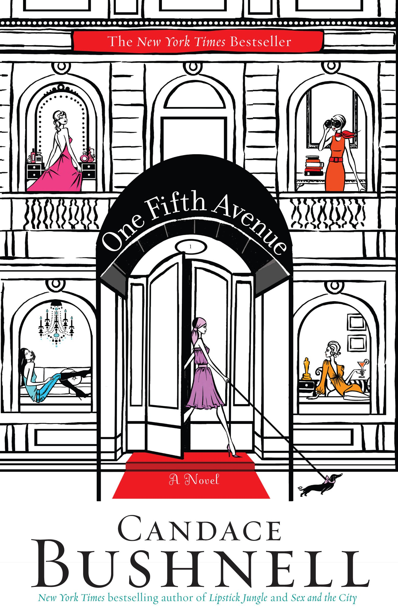Image result for one fifth avenue candace bushnell