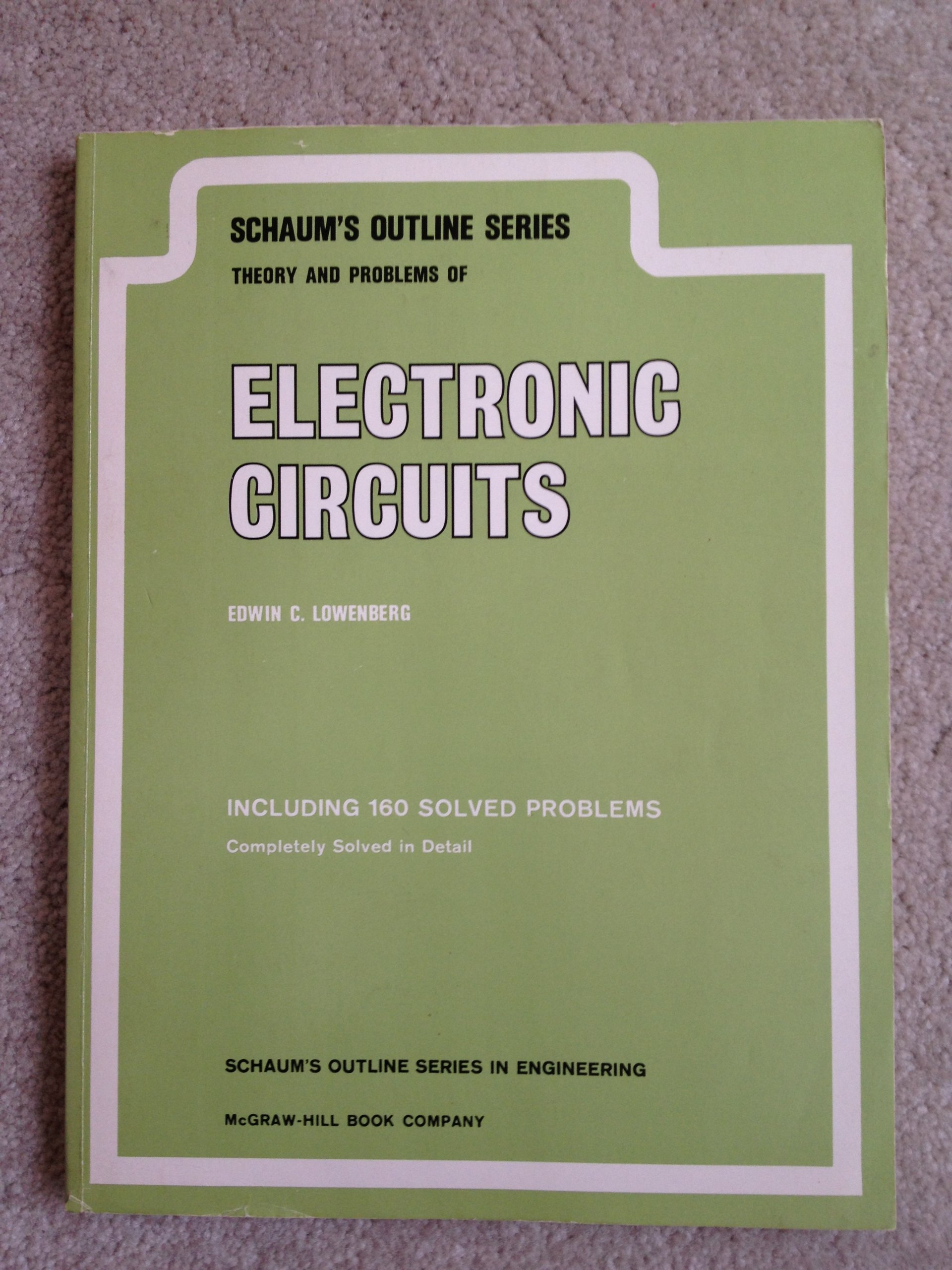 Buy Electronic Circuits Schaums Outline S Book Online At Low Electronics Prices In India Reviews Ratings