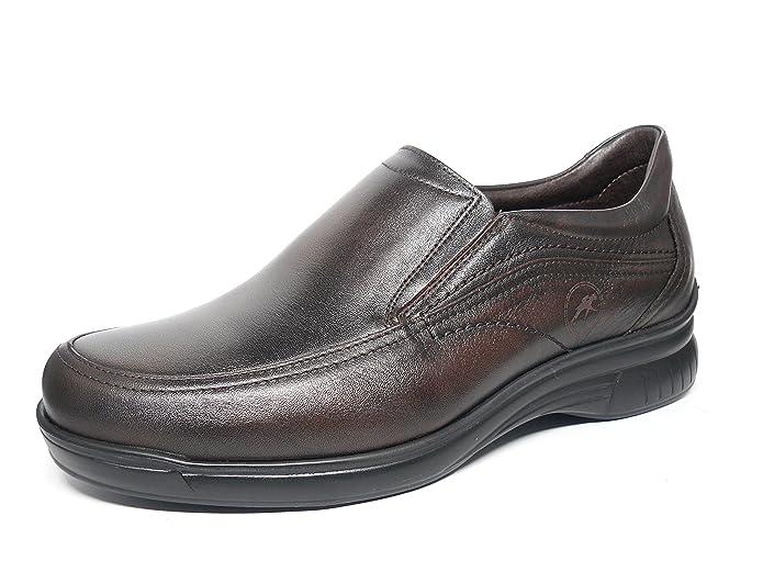 Zapatos hombre FLUCHOS tipo Mocasín - Disponible en Marrón y Negro - 7781 - 62 y 74: Amazon.es: Zapatos y complementos