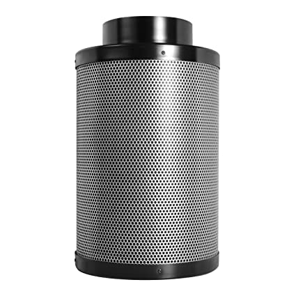 ".com: activated charcoal carbon filter 6"" x 16"", up to 400 cfm ..."