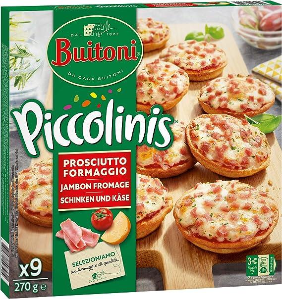 Buitoni Piccolinis Capricciosa - Mini Pizzas congeladas jamón y ...