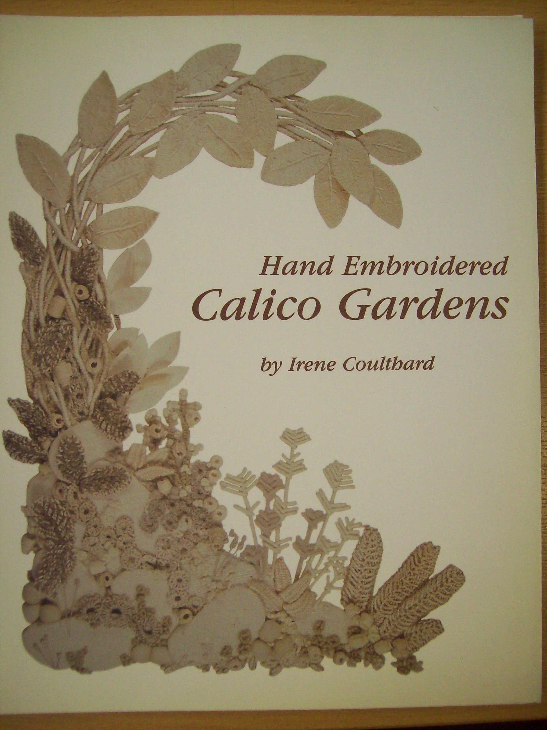 Download Hand Embroidered Calico Gardens Text fb2 ebook