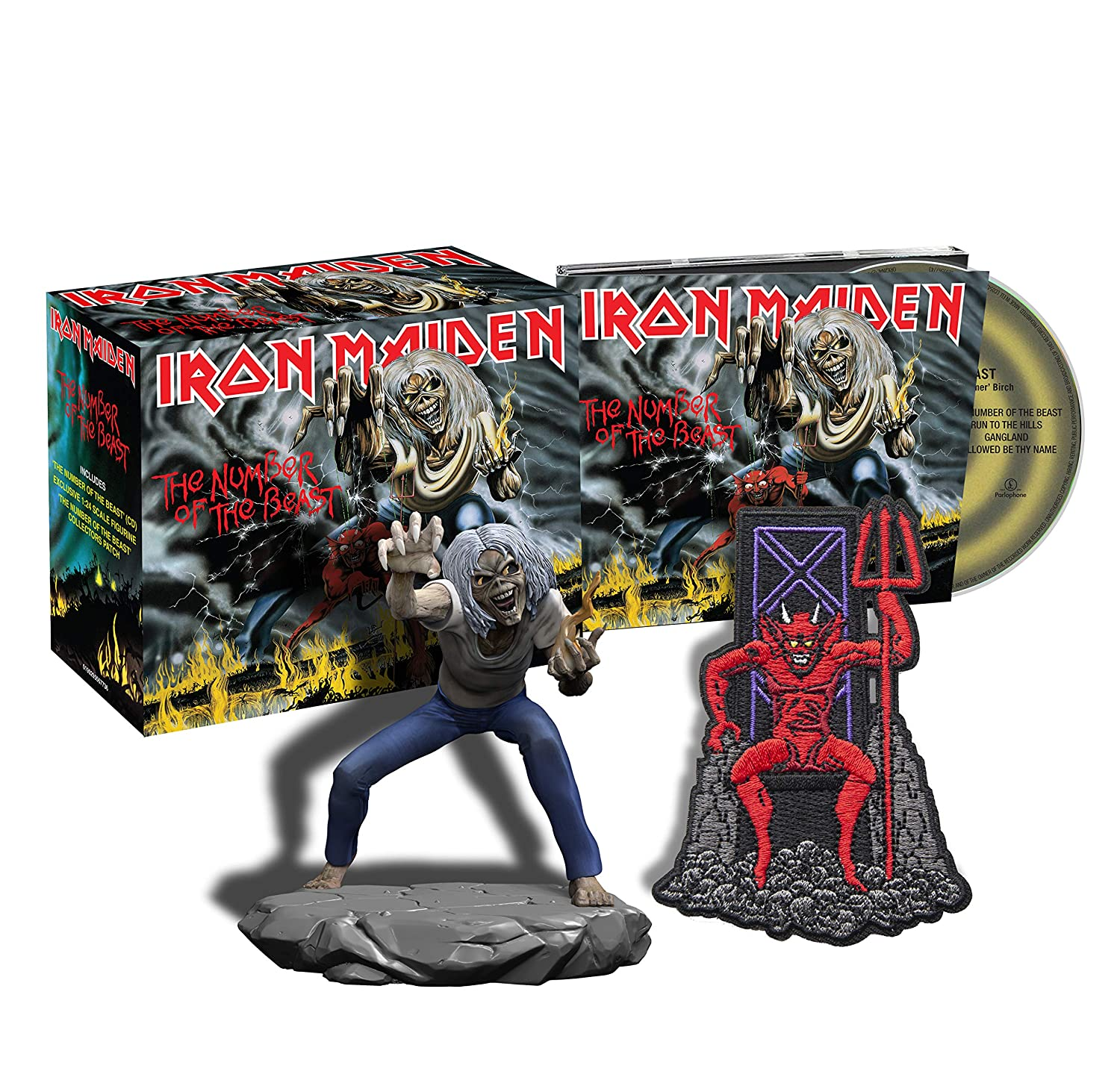 The Number Of The Beast (CD + Figura)
