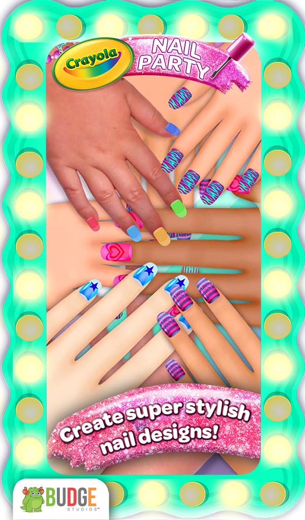 Amazon.com: Crayola Nail Party – A Nail Salon Experience: Appstore ...