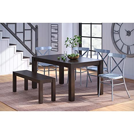 Amazon.com: Better Homes & Gardens Bryant - Mesa de comedor ...