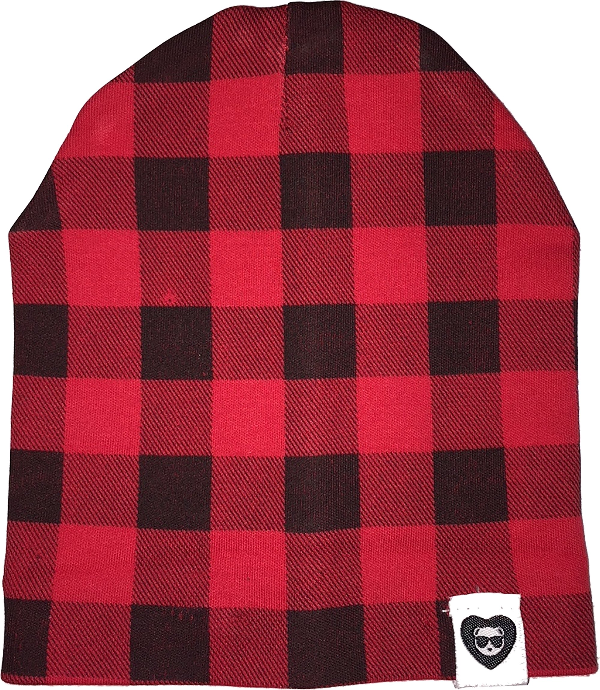 Fayfaire Winter Hat Beanie Outfit : Boutique Quality Adorable Red Buffalo Plaid 2T-6T
