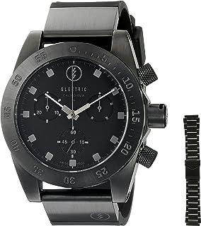 Electric Unisex EW0040040005 DW01 SWISS Analog Display Swiss Quartz Black Watch