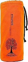 amapodo Cover Flaschen-Hülle Schutzhülle Orange für Trinkflaschen mit Ø von 6-8cm