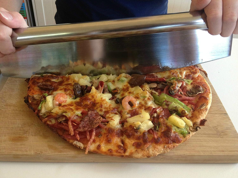 Pizza Cutter Sharp Rocker Blade