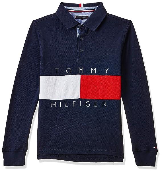 Tommy Hilfiger KB0KB05121 Polo niño 5 A: Amazon.es: Ropa y accesorios
