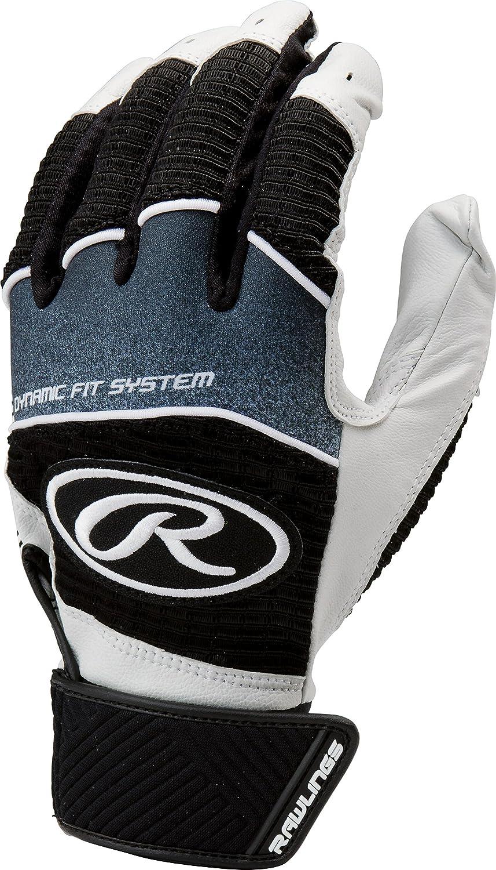 Rawlings Workhorse 950シリーズユースバッティング手袋 B01HH3LT4I Small|ブラック ブラック Small