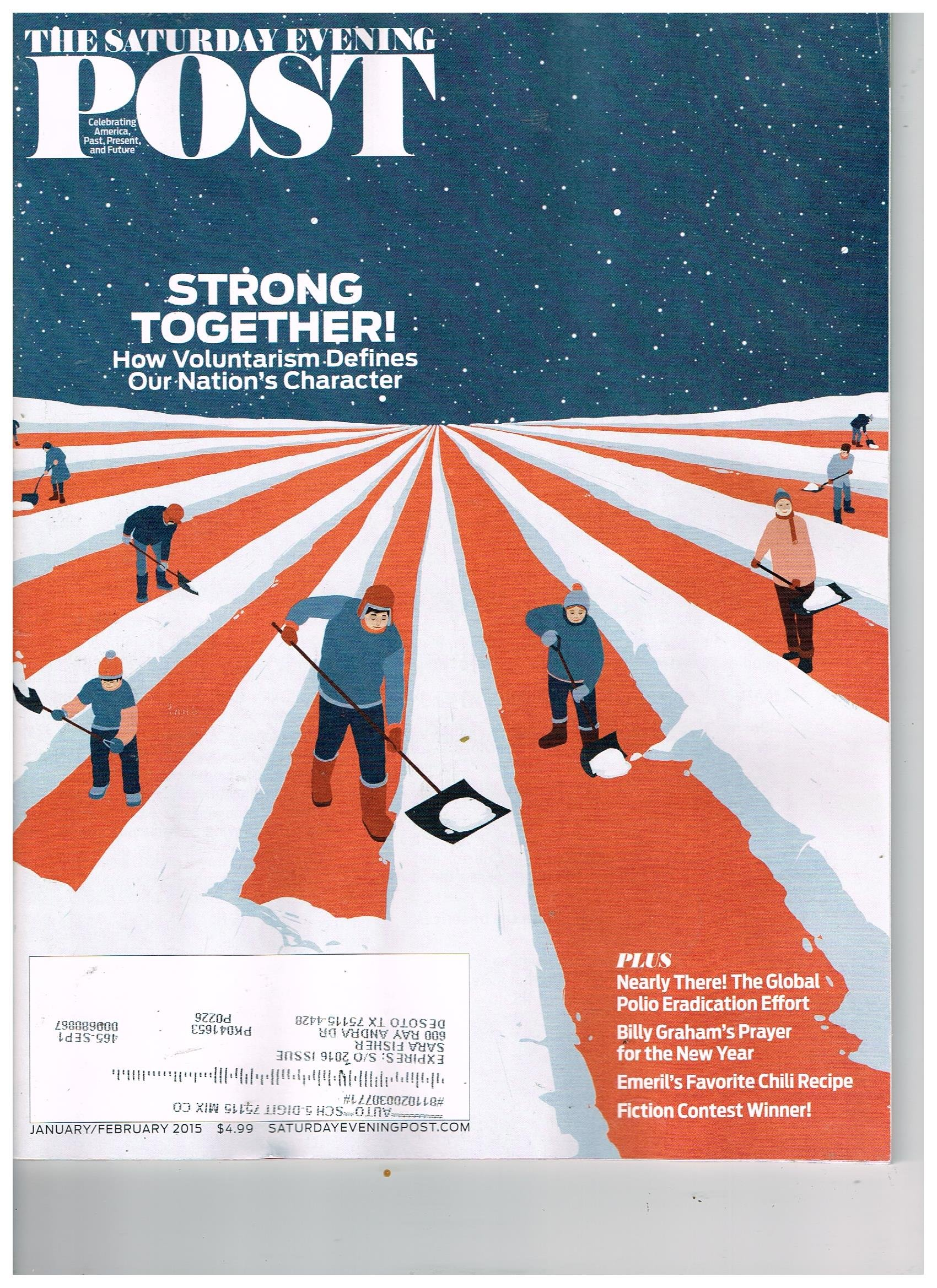 SATURDAY EVENING POST Magazine (Jan/Feb 2015) Strong Together ebook
