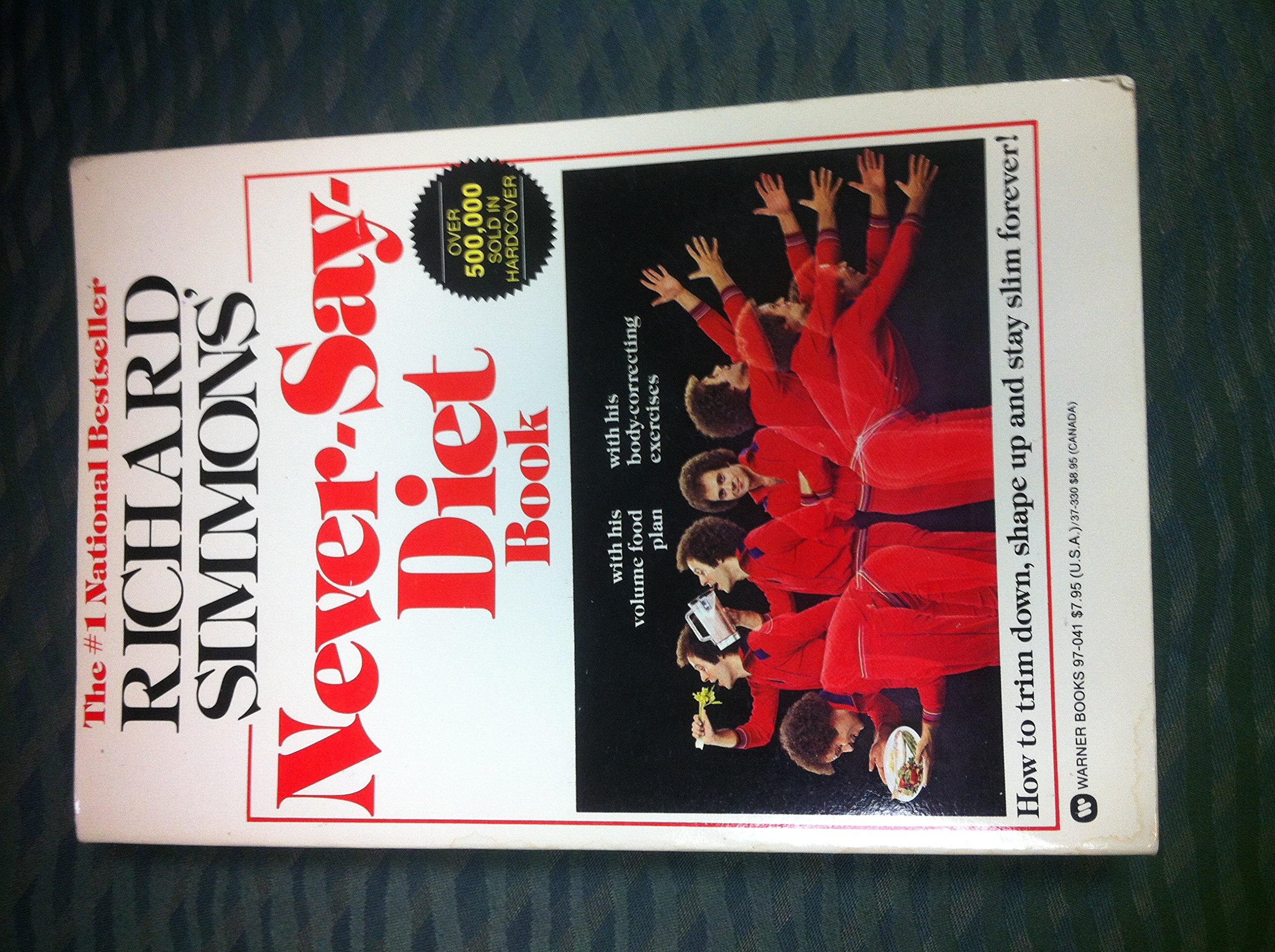 Richard Simmons Never Say Diet Book Richard Simmons 9780446970419