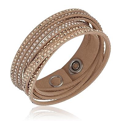 9ef2013af7ca6 Swarovski Crystal Slake Silk Bracelet