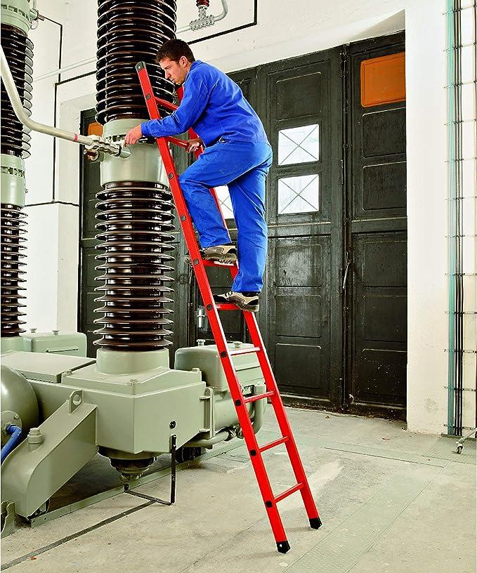 Zarges Z600 - Escalera de plástico reforzado (10 peldaños): Amazon.es: Bricolaje y herramientas