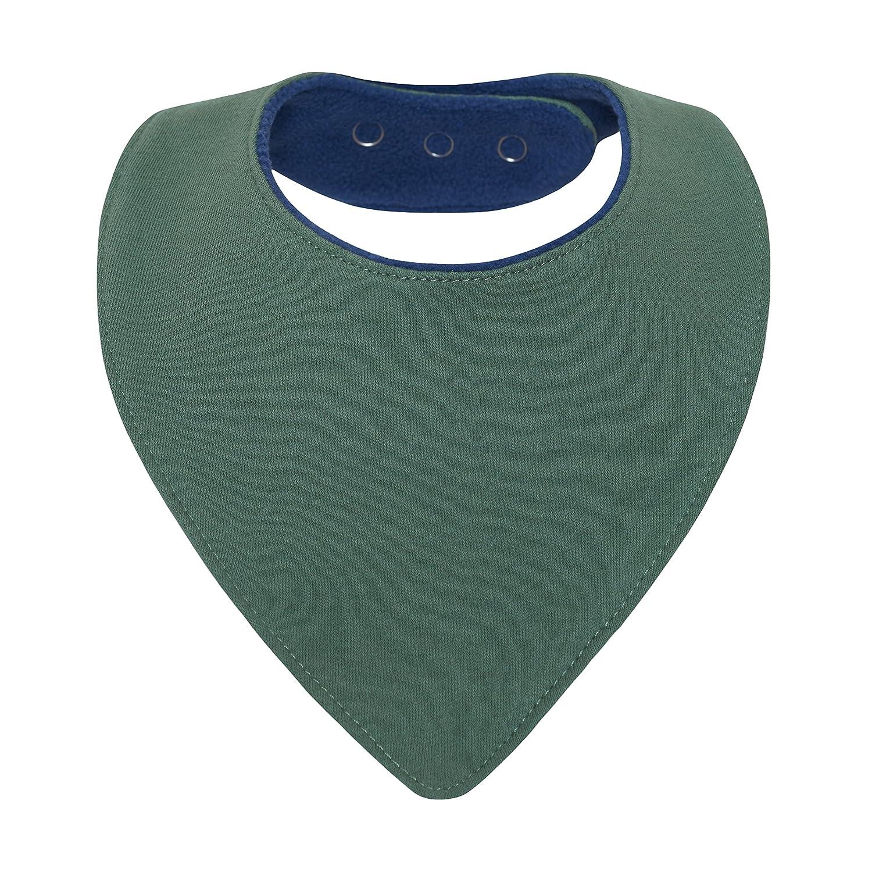 triangle pression nouveau-n/é 1 mois /à 2 3 4 an-s doubl/é coton /éponge et polaire lot de 5 mixte uni bleu marine gris avec motif bavette-s enfant-s dentition Bavoir bandana b/éb/é gar/çon