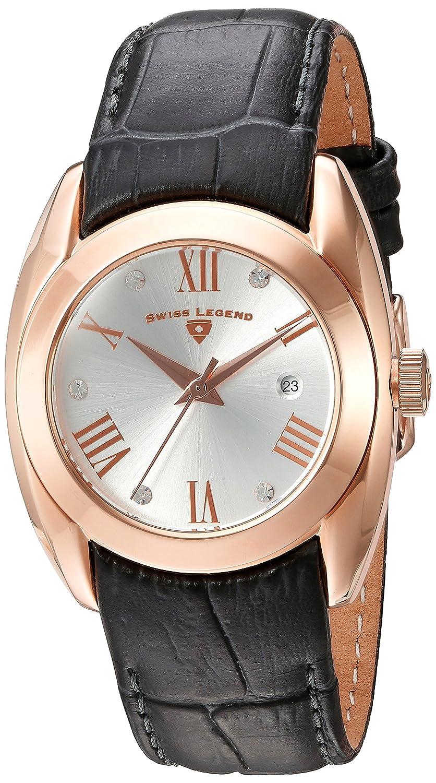 Swiss Legend Damen-Armbanduhr SL-10550-RG-02S-GRYS