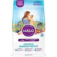 Natural Dry Cat Food Sensitive Stomach Seafood Medley 6-lb. Bag