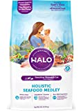 Halo Holistic Natural Dry Cat Food for Adult Cats with Sensitive Stomachs