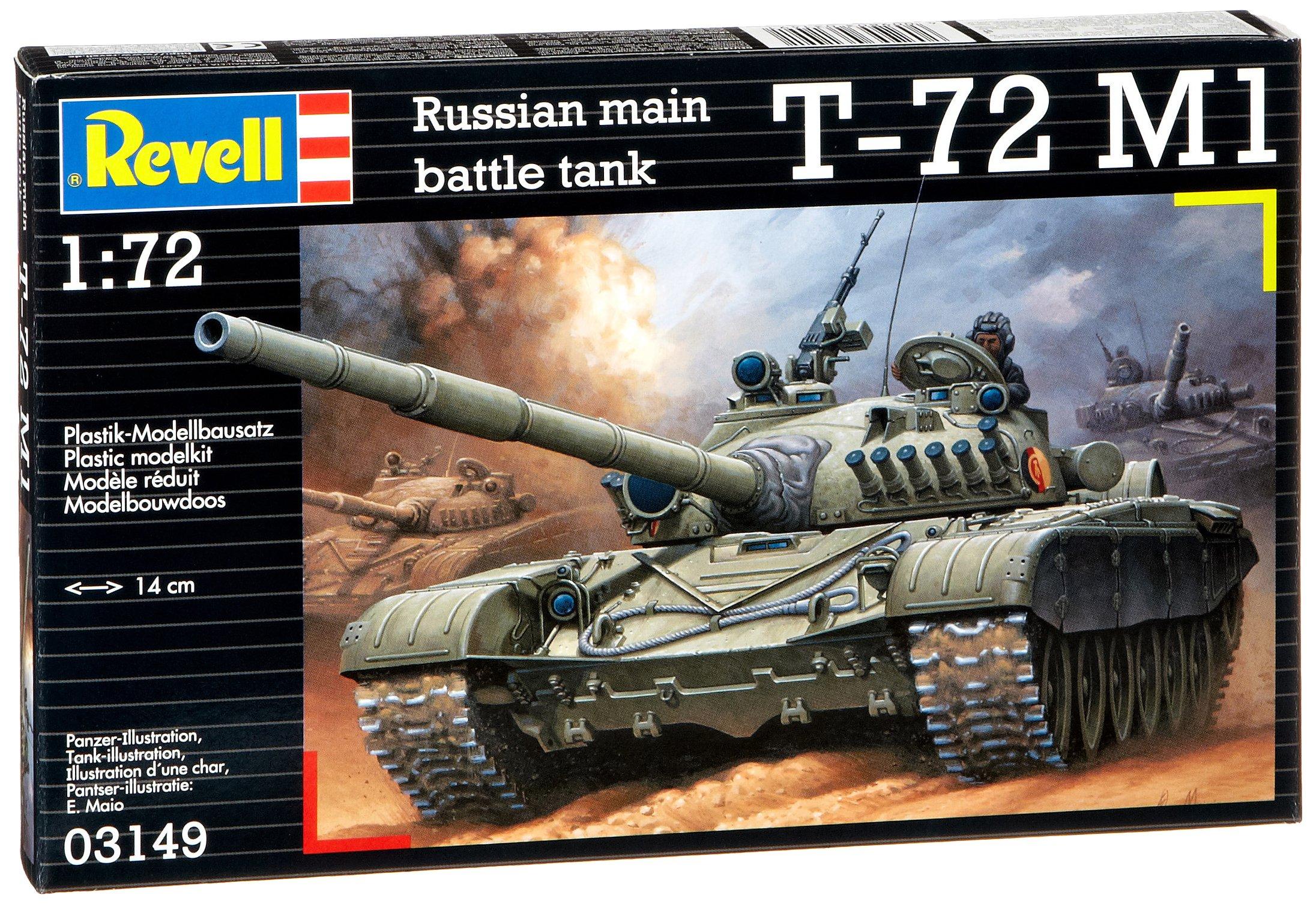 Revell 03149 Soviet Battle Tank T-72 M1 Model Kit