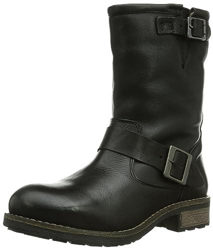 Buffalo London, Boots femme - Noir (Black 01), 38 EU
