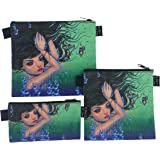 Reusable Sandwich & Snack Baggies by ART OF LUNCH - Set of 3 Designer Sandwich Bags - Design by Caia Koopman (USA) - $1 of every sale goes to support the Umijoo Project - Umijoo Underwater