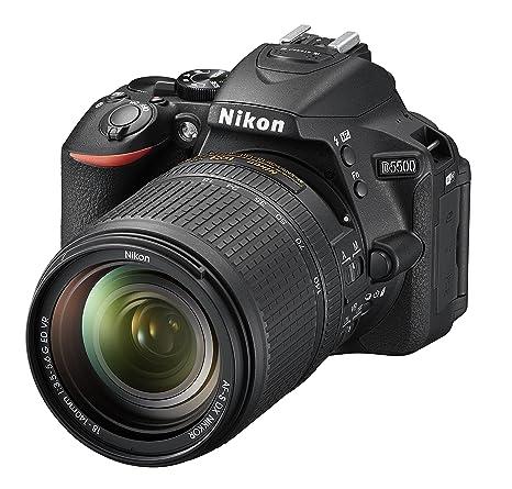 Nikon D5500 - Cámara réflex de 24.2 MP (Pantalla LCD táctil ...