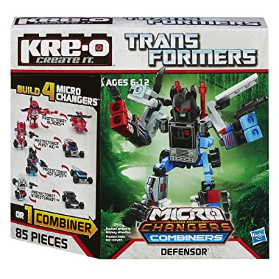 KRE-O Transformers Micro-Changers Combiners Defensor Construction Set (A4474): Toys & Games