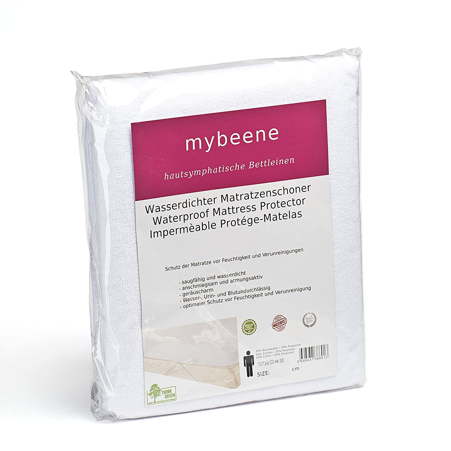Mybeene Waterproof Incontinence Mattress Protector 60x120