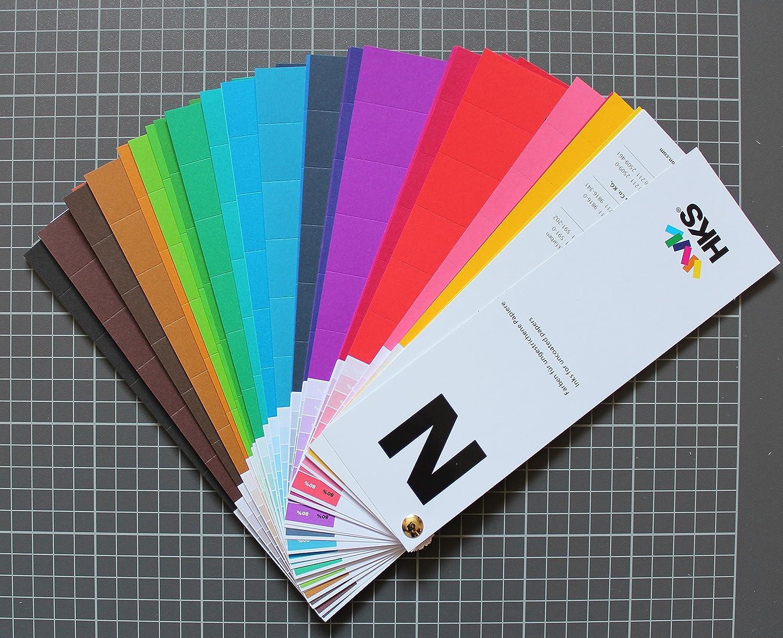 HKS® di colori, stampa, supporti gestalter, quattro stampa a colori, stampa offset easydruck24de