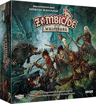 Asmodee – Juego de Mesa y Figuras – Zombicida Black Plague: Amazon.es: Juguetes y juegos