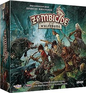 Protege Carte Zombicide Black Plague.Mayday Games 331672 Jeu De Cartes Housse De Protection