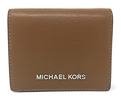 6ad01b1423dc Amazon.com  Michael Kors Jet Set Travel Leather Flap Card Holder ...