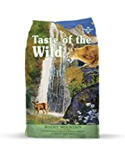 Taste of The Wild Grain Free Premium High Protein Dry Cat Food Rocky Mountain - Roasted Venison and Smoked Salmon
