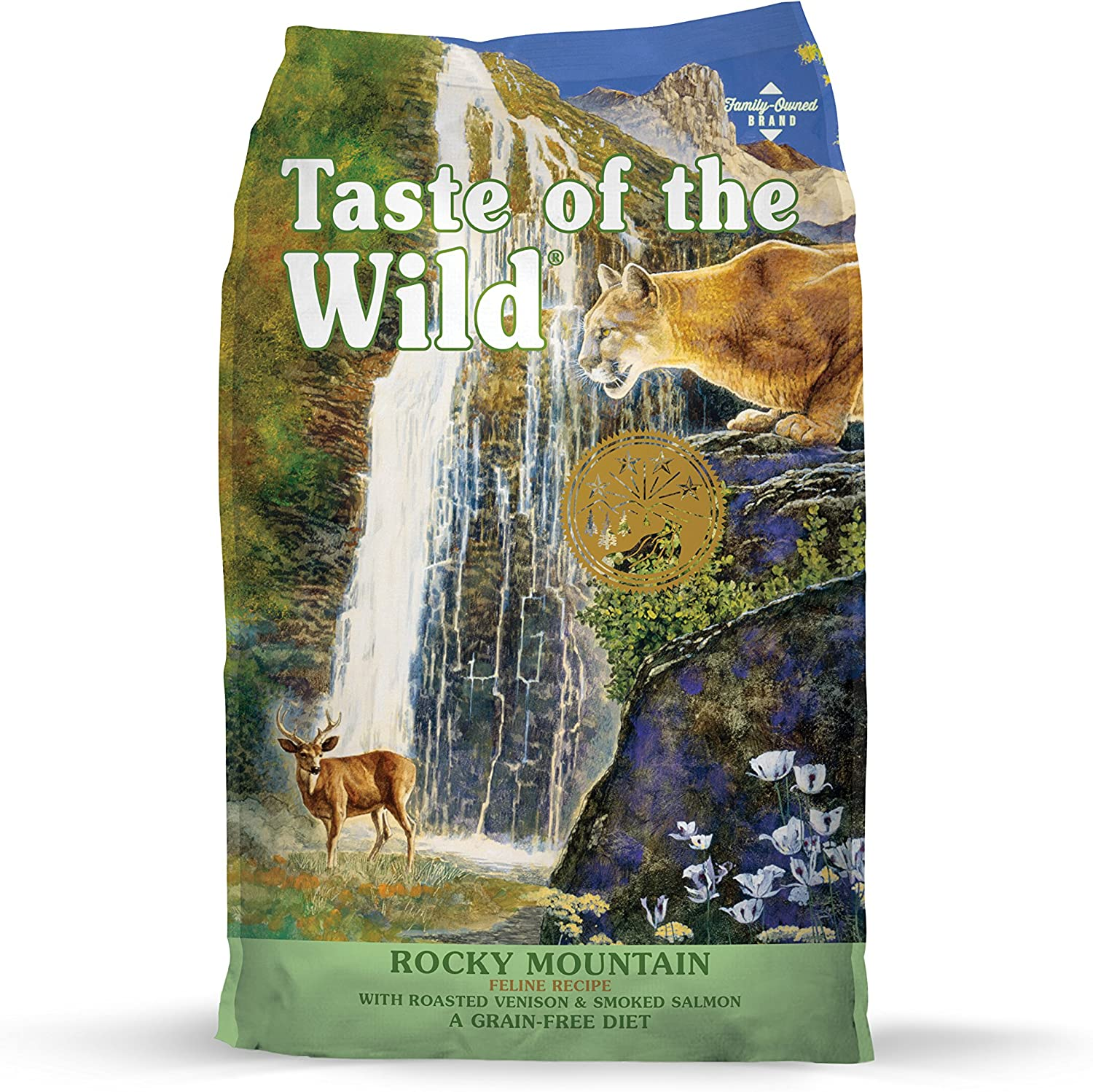 2. Taste of the Wild Dry Cat Food