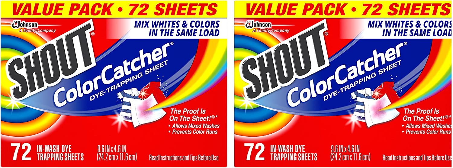Shout Color Catcher 72 Count (Pack of 2)