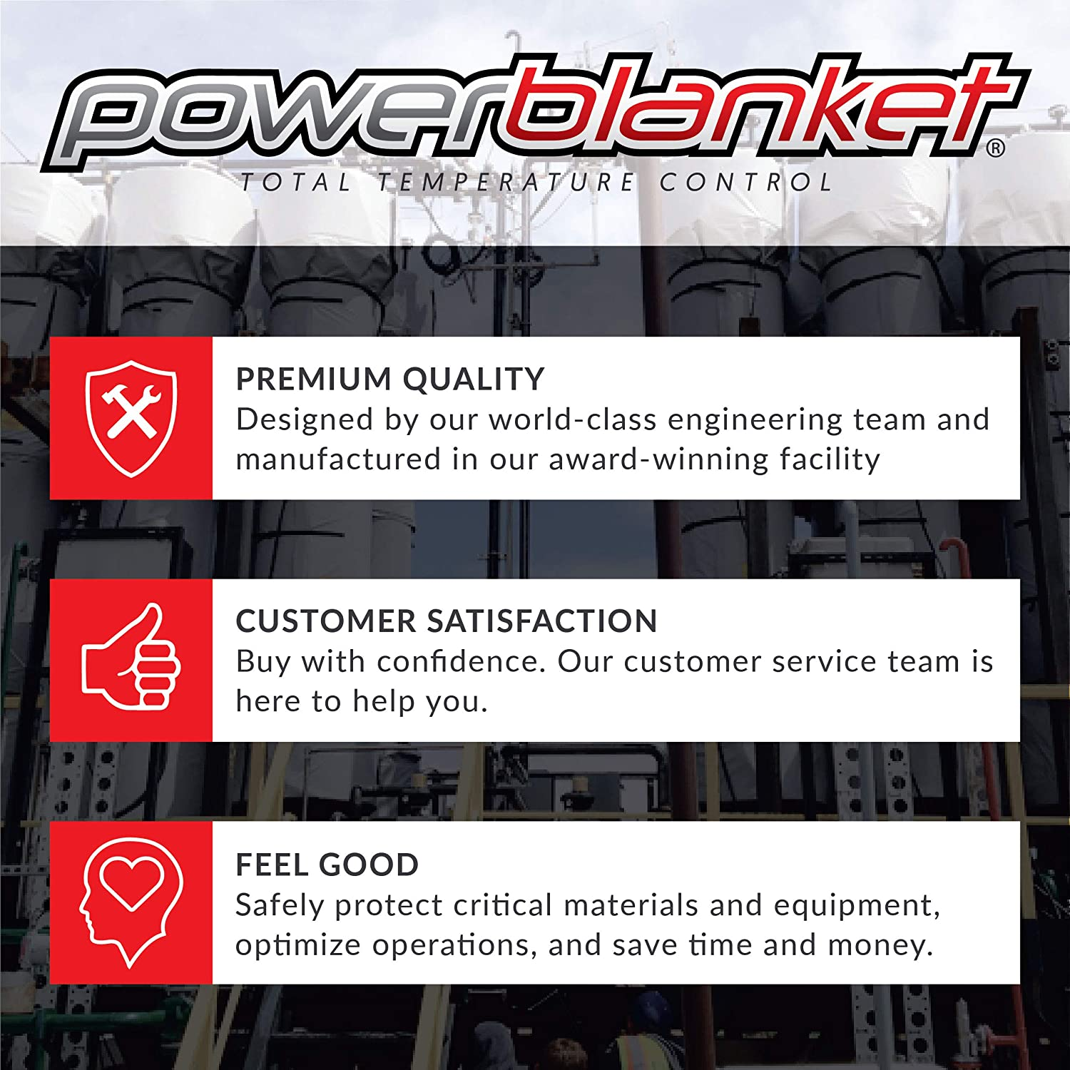 55 gal Powerblanket BH55PROG Xtreme Alloy Drum Heater with Adjustable Digital Thermostatic Controller Gray